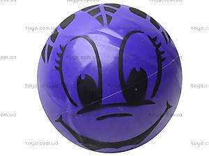 Мяч резиновый с декором, 004..008..016, toys.com.ua