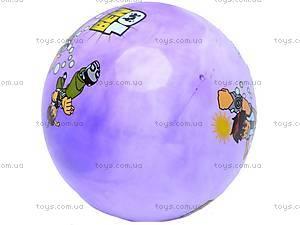 Мяч резиновый с рисунком, GM4.4, фото