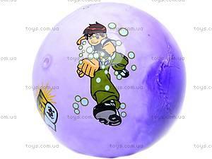 Мяч резиновый с рисунком, GM4.4