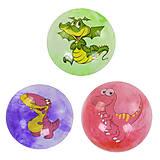 "Мяч резиновый ""Дино"" 23см 3 вида (C40269), C40269, игрушки"