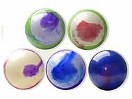 """Мяч резиновый """"Акварель"""" ассорти, 35см, CL12-012, детские игрушки"""