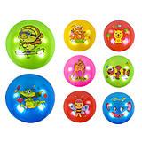 Мяч резиновый 23см 8 видов, перламутровый (C37850), C37850, детские игрушки