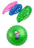 Мяч резиновый ассорти 15 см 50 грамм, B24853