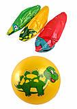 Мяч резиновый, легкий, YW1892