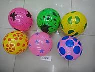 Мяч резиновый «Цветной», C12760, отзывы