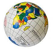 Мяч резиновый Глобус 9 дюймов, 60 грамм , RM1704, отзывы