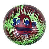Мяч резиновый, красно-зеленый «Пчёлки», F21998, купить