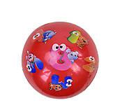 Мяч резиновый, красный размер 6``, F21993, купить