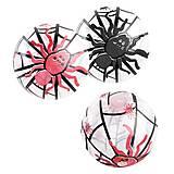 """Мяч резиновый """"Пауки"""" 23 см 5 шт, BT-PB-0108"""