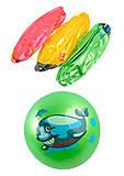 Мяч резиновый «Рыбка» 4 цвета, CL12-09, отзывы
