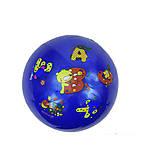Мяч резиновый, синий размер 6``, F21993