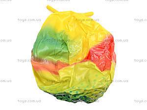 Мяч с рожками «Радуга», 75 см, Польша, купить