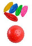 Мяч с шипами, резиновый, 10 штук, MB0105, фото