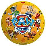 Мяч «Щенячий патруль», JN54952