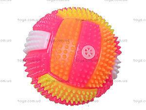 Мячик со световым эффектом, 3388W, детские игрушки
