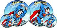 Игрушечный мячик «Супермен», WB-S 003/14, фото