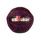 Мяч волейбол, черно-розовый, B25282, фото
