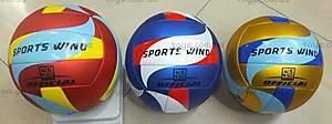 Мяч волейбольный 300 г, BT-VB-0014 PU