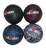 Мяч волейбольный 4 цвета 15 см, B25282, Украина