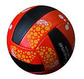 Мяч волейбольный красно-черный, TT13044, Украина
