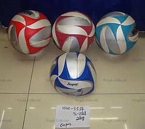 Мяч волейбольный, трехцветный, W02-3534