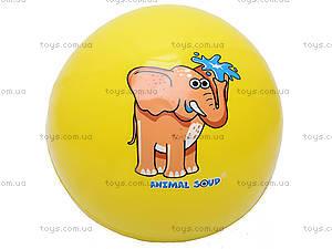 Мяч «Забавные животные», W02-1011, игрушки