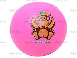 Мяч «Забавные животные», W02-1011, іграшки