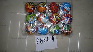 Мячи цветные с картинками , 2652-63