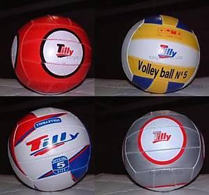 Мячик для волейбола, 8 видов, Tilly-3