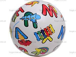 Мячик резиновый с рисунком, FPB-8-1, фото