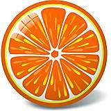 """Мячик """"Апельсин"""" 23 см (11/2944), 11/2944, toys.com.ua"""