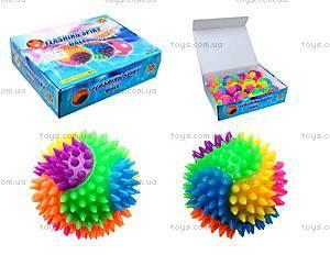 Мячик-попрыгун для детей «Ежик», D2030A-6