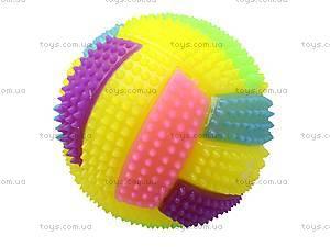 Мячик-попрыгун «Волейбол», D2030A-2, игрушки
