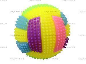 Мячик-попрыгун «Волейбол», D2030A-2, детские игрушки