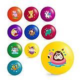 """Мячик резиновый 9"""" 10 штук (JPP01), JPP01, игрушка"""