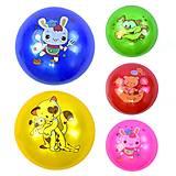 Мячик резиновый разноцветный (5 шт. в упаковке), C34211-25