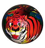 Мячик резиновый «Тигр», BT-PB-0045, фото