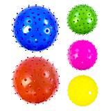 Мячик-ёжик, 20 см, набор 5 штук, C34566, фото