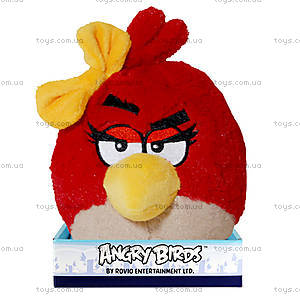 Мягкая игрушка Angry Birds «Птичка-девочка», 92055