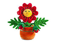 Мягкая игрушка «Цветок с бутонами», LA8766s, фото