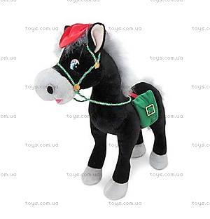 Музыкальная мягкая игрушка «Конь-ковбой», LF1139A