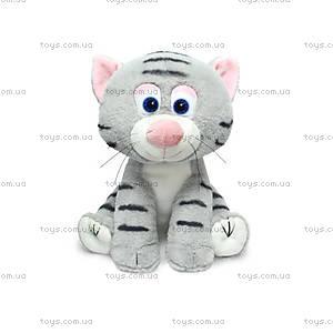 Мягкая игрушка «Котенок полосатый», LA8708, купить