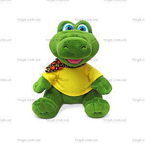 Мягкая игрушка «Крокодил в футболке», LA8744