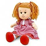 Мягкая кукла «Катюша» в красном платье, LF1138A, фото