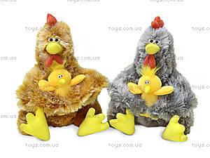 Плюшевая игрушка «Курочка Ряба с цыплёнком», LF1191