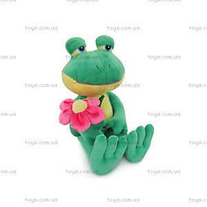 Мягкая игрушка «лягушка с цветком», LF1073