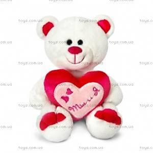 Плюшевый медведь «Амурчик», с сердцем, LF1229