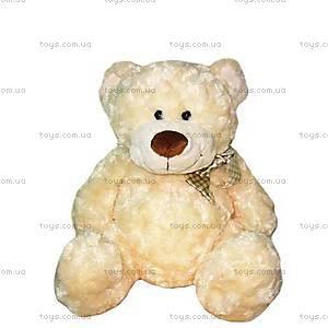 Мягкая игрушка «Медведь белый с бантом», 3301GM