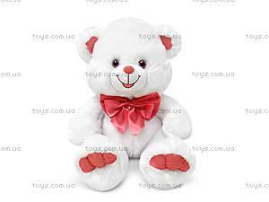 Мягкая игрушка «Белый медведь с бантом», LF544C