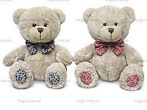Мягкая игрушка «Малый медведь Берни с бантом», LA8533J